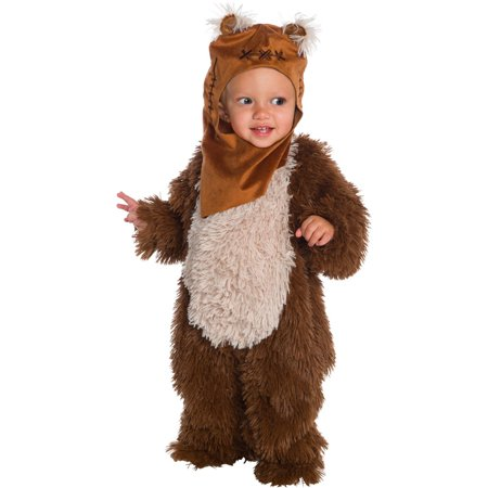 Halloween Star Wars Classic Ewok Deluxe Plush Infant/Toddler Costume