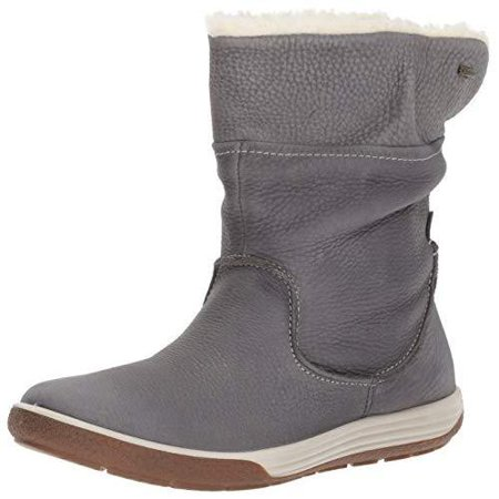 ECCO Womens Chase Ii Gore-Tex Mid Winter Boot 100% Leather,8-8.5- Dark Shadow Shadow Weather Boots