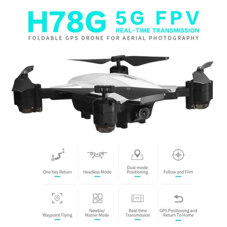 JJR/C H78G GPS Drone with Camera 1080P 5G Wifi FPV Foldable Altitude Hold RC