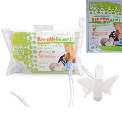 Pediatric Innovations - BreathEasier BOOGIES BE GONE  Nasal Aspirator with Repla