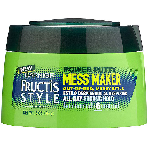 Garnier Fructis Style Mess Maker Power Putty, 3 oz