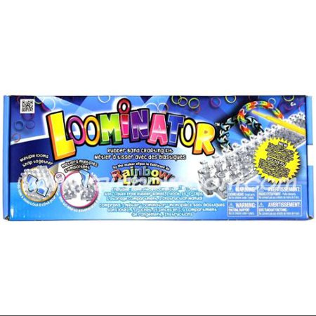 Rainbow Loom Loominator Rubber Band Crafting Kit](Rubber Band Looms)