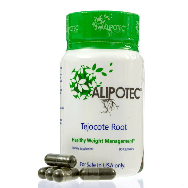 Alipotec Tejocote Root Weight Loss Supplement, 90 Capsules