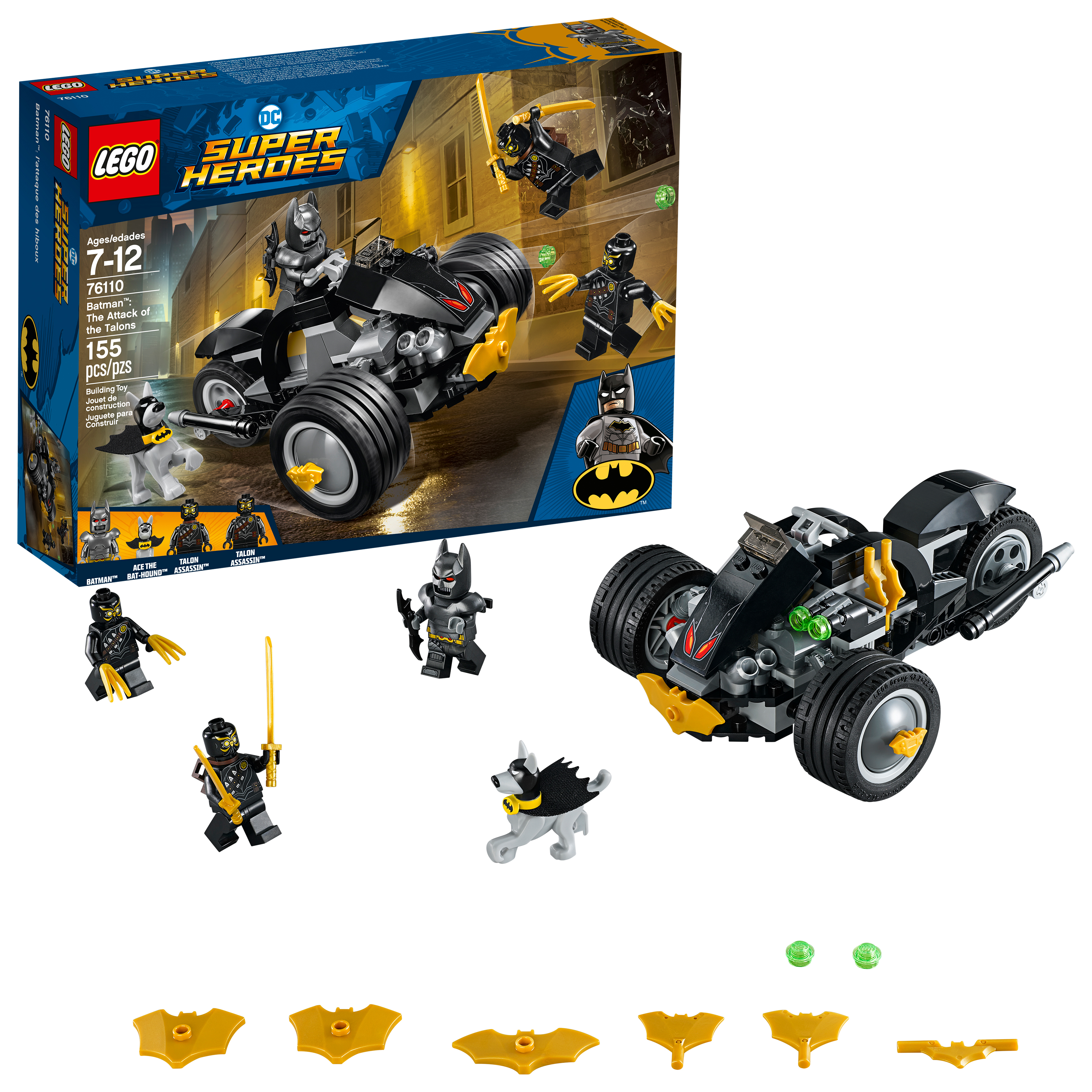 Lego Super Heroes Batman: The Attack of the Talons 76110 by LEGO System Inc