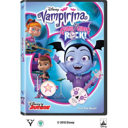 Vampirina: Ghoul Girls Rock! (DVD) (Ghastly Ghoul)