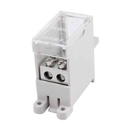 100-Type Wire Terminal Block 1 Inlet 2 Outlet for Miniature Circuit Breakers