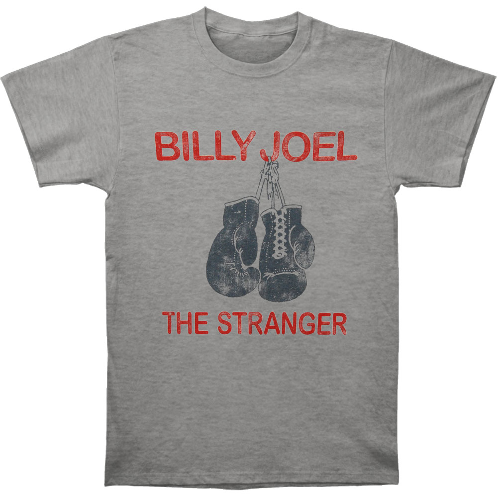 Billy Joel Men's  The Stranger T-shirt Heather