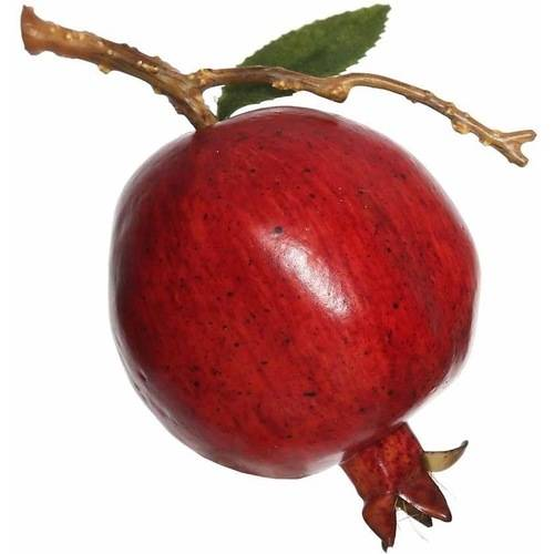 Vickerman 75mm Artificial Red Pomegranate (6 Per Pack)