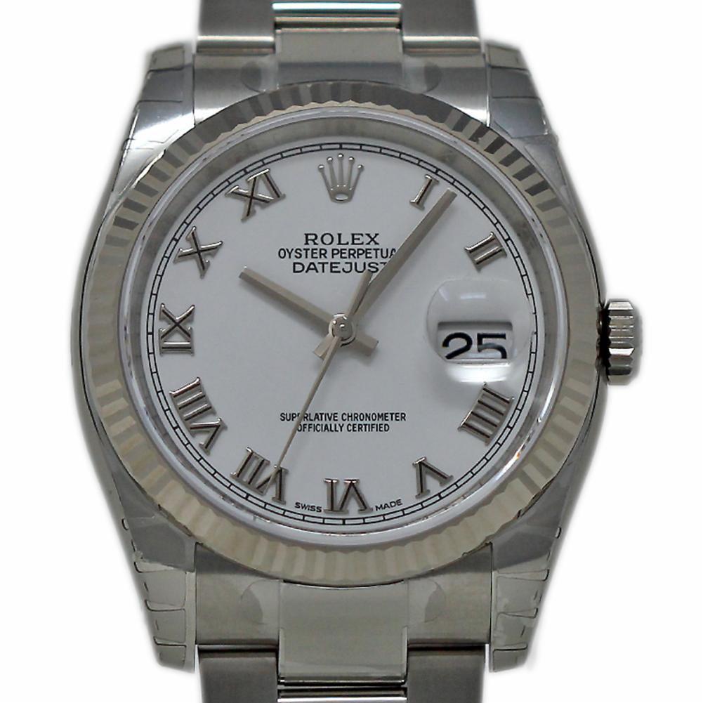 Pre-Owned Rolex Datejust 116234 Steel  Watch (Certified Authentic & Warranty)