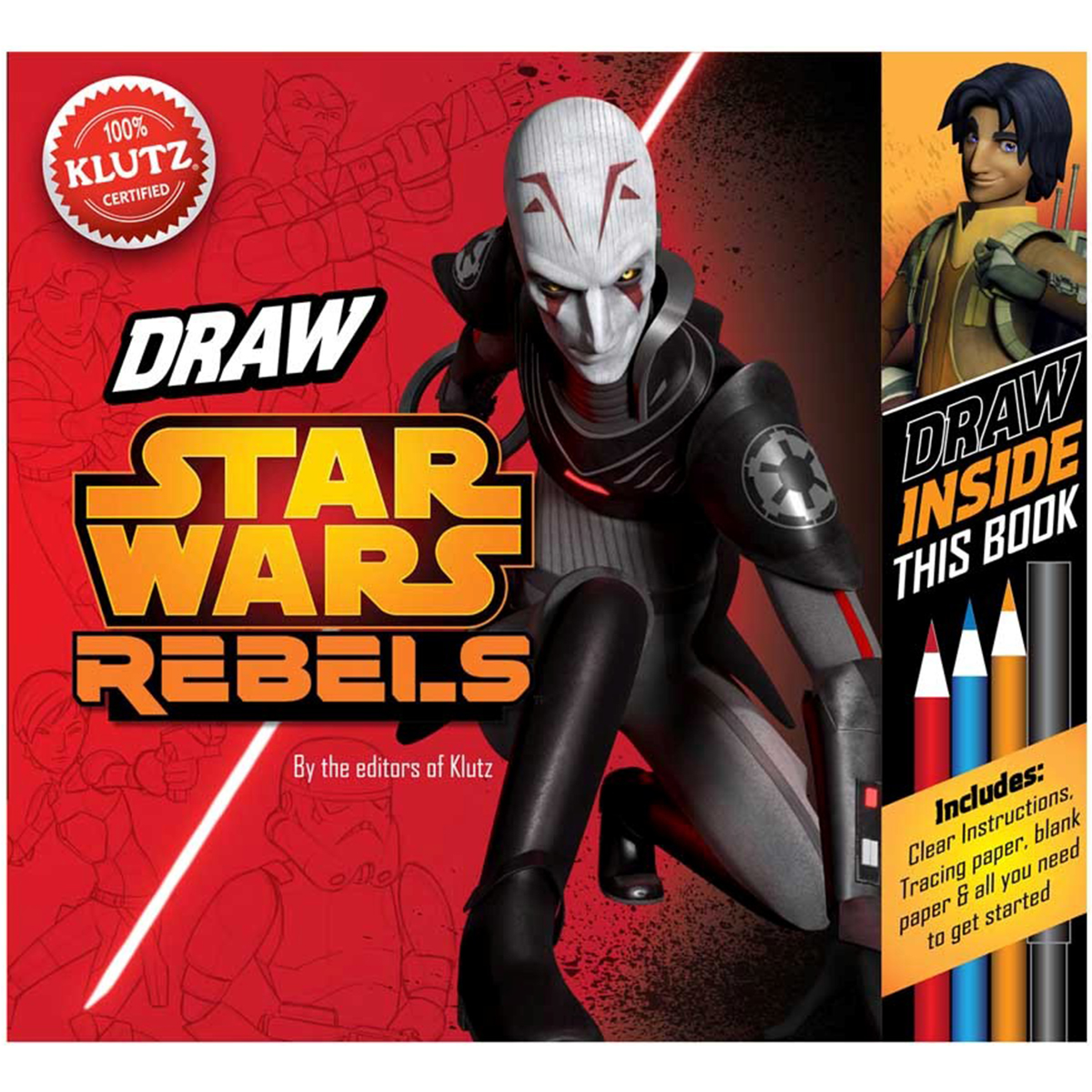 Star Wars Rebels Book Kit-