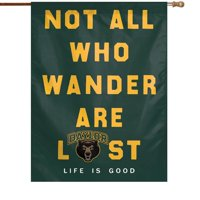 """Baylor Bears WinCraft 28"""" x 40"""" Life Is Good Single-Sided Vertical Banner"""