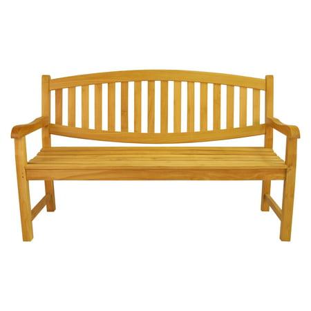Anderson Teak Kingston 3 Seat 4.92 ft. Outdoor (Anderson Teak Garden Furniture)