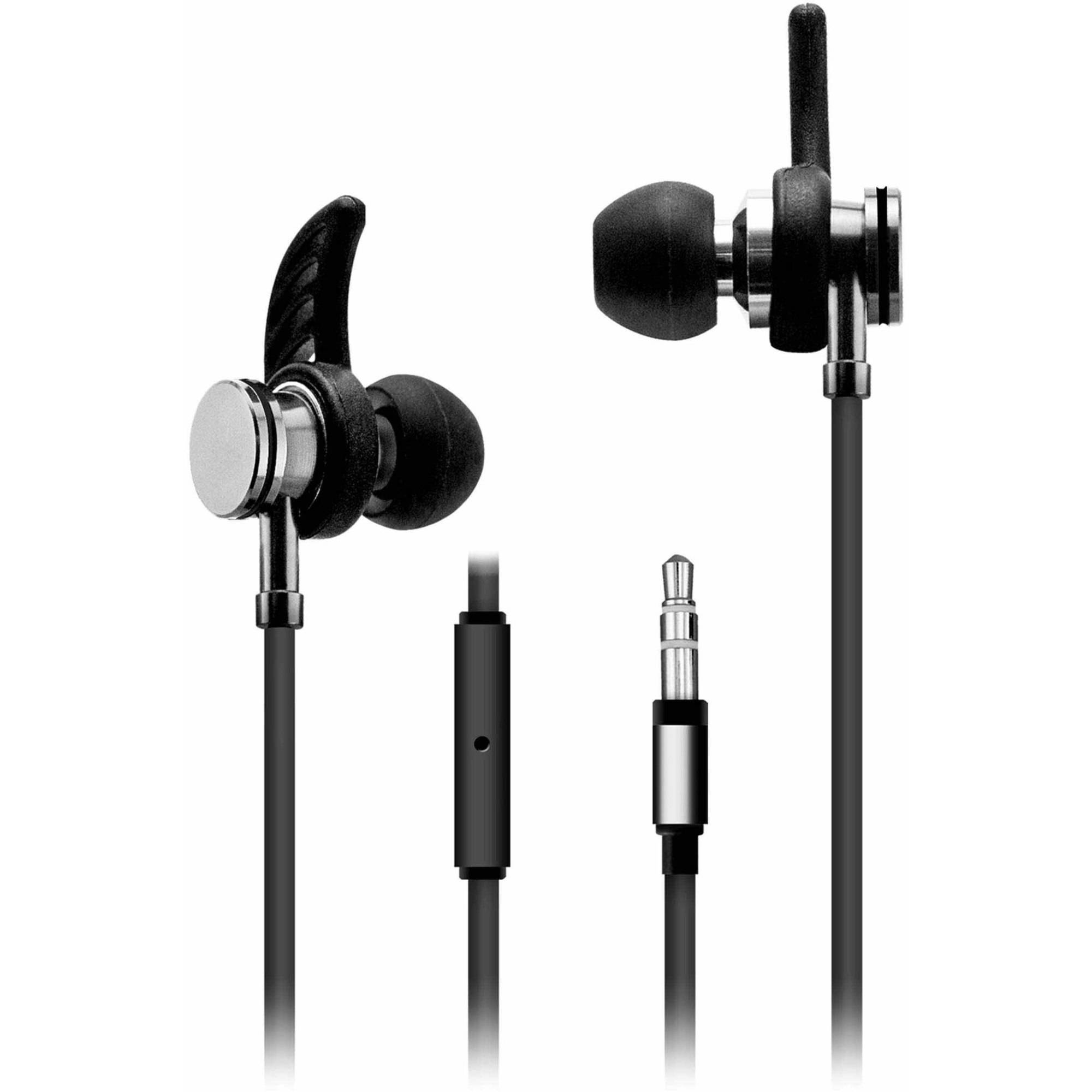 Sentry Sport Earbuds With Mic And Case Walmart Com