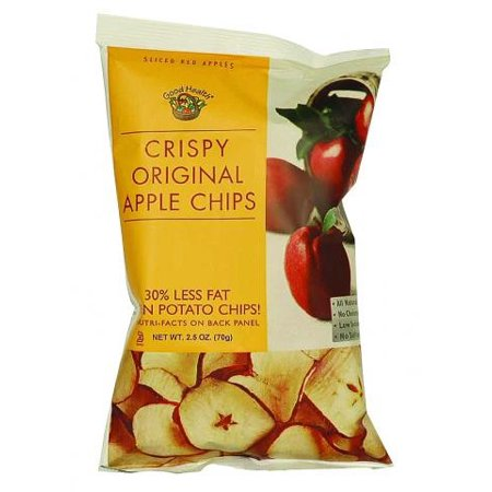 Good Health Crispy Apple Chips, Original, 2.5 Ounce Bags ()