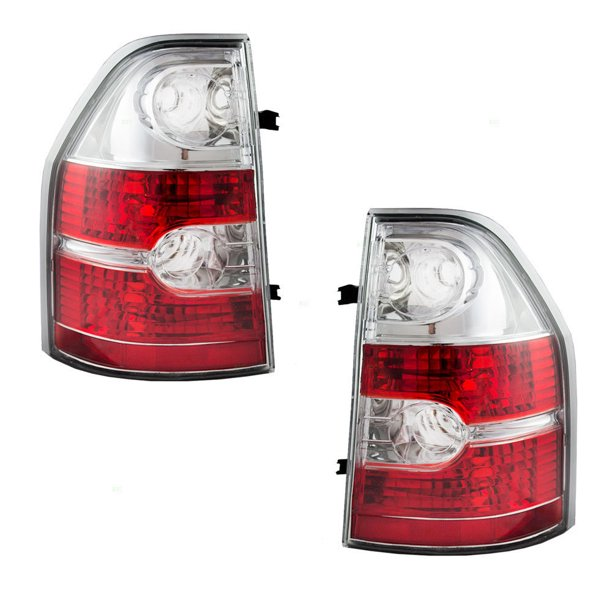 Tail Light Left Driver & Right Passenger Side Tail Lamp