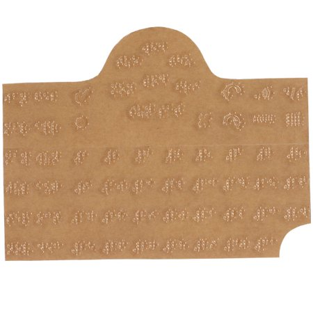 Braille Sticker (Braille Sticker for Lifetime Voice Calendar Talking Organizer )