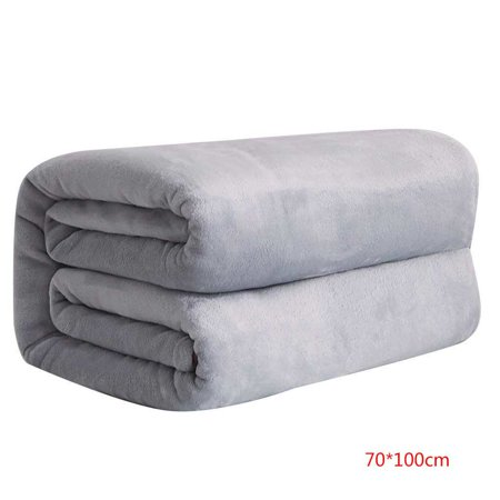 Autumn Flannel Autumn Flannel (Solid Color Flannel Blanket Bed Car Office Sofa Autumn Winter Warm Carpet Air-condition Room)