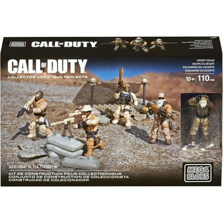 Mega Bloks Call Of Duty Desert Squad (Call Of Duty Mega Bloks Guns)