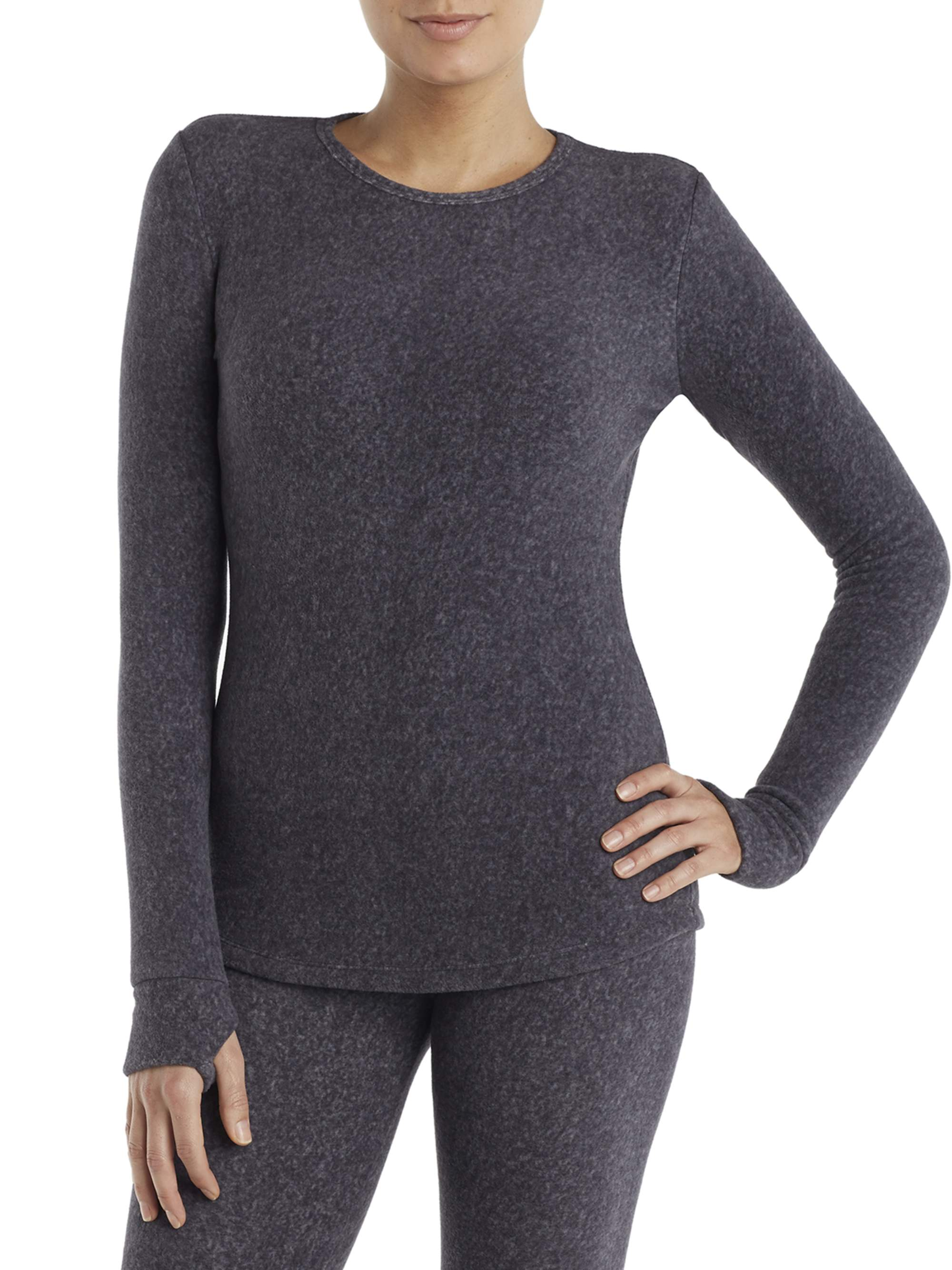 Women's Stretch Fleece Warm Underwear Long Sleeve Top