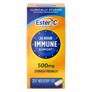 Ester-C Vitamin C, 500 mg, 60 Coated Tablets