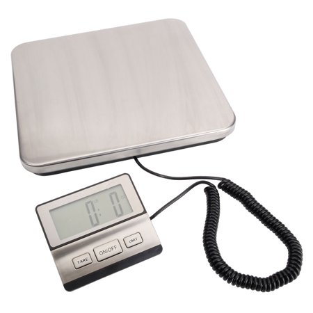 Zimtown Postal Scale Heavy Duty Digital for Shipping and Postal with Durable Stainless Steel Large Platform,440 lbs Capacity, Post Office Postal Scale and Luggage