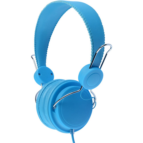 Jamsonic JHP-203 Neon Series Noise Reduction Over-The-Ear Stereo Headphones
