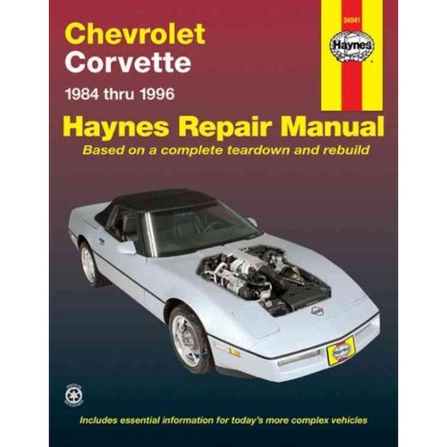 Haynes corvette repair manual