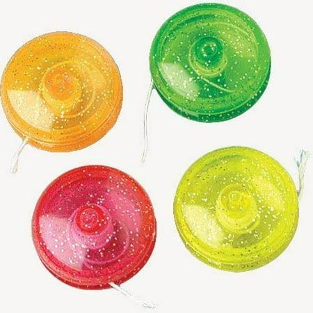 Mini Glitter Yo-Yos](Chinese Yo Yos)