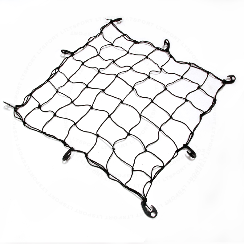 Fit Land Rover Cargo Net Expandable Carrier Rooftop or Rear Trunk Mount Elastic Rack Holder Storage Basket Organizer For