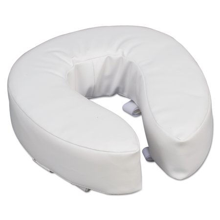 DMI Vinyl Cushion Toilet Seat, 4