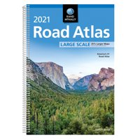 Rand McNally 2021 Large Scale Road Atlas (Paperback)