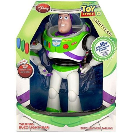 Disney Toy Story Advanced Talking Buzz Lightyear Action Figure 12