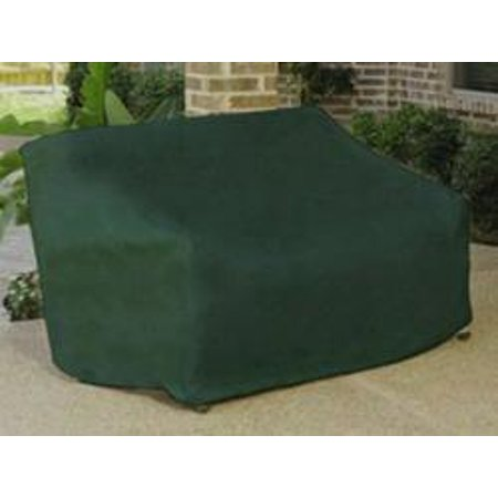 Vinyl Outdoor Chair Cover - Durable Outdoor Patio Vinyl 3-Seat Glider Chair Cover - Green