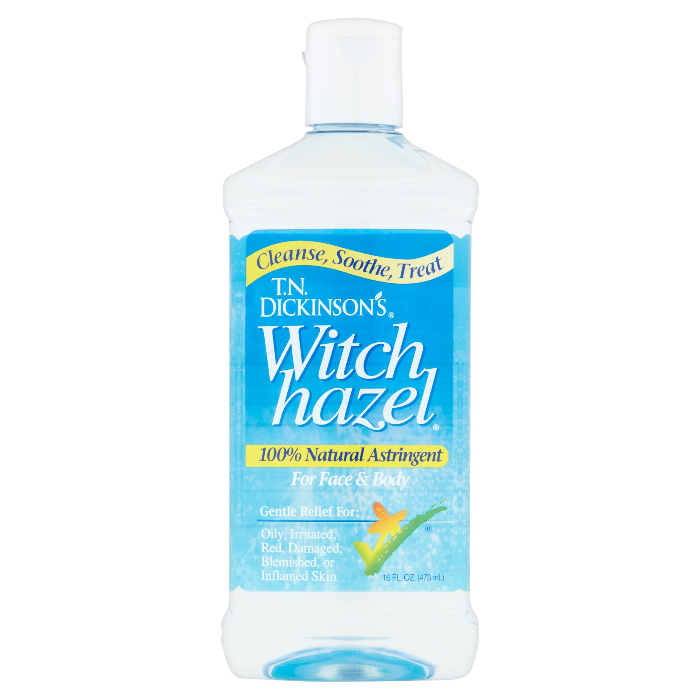 T.N. Dickinson's Face & Body Witch Hazel Astringent, 16 fl oz