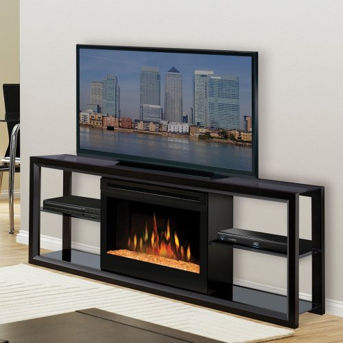 Dimplex Novara Black Entertainment Center Electric Fireplace