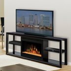 Dimplex Optimyst Ii Thompson Electric Fireplace Walmart Com