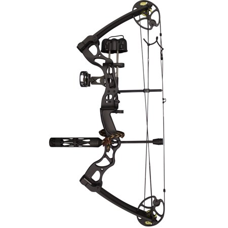 Hunting Package - SAS Rage 55-70 Lbs 25-31'' Compound Bow Pro Hunting Ready Package Combo