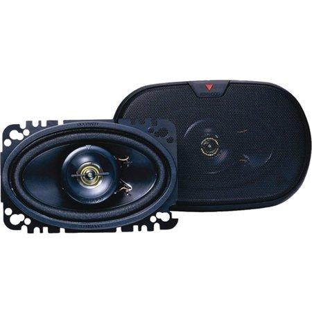 Kenwood Kfc 4675C 60W 4  X 6  2 Way Speaker System   Pair Of Speakers