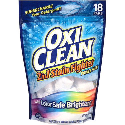 OxiClean 2in1 Stain Fighter with Color safe Brightener Power Paks