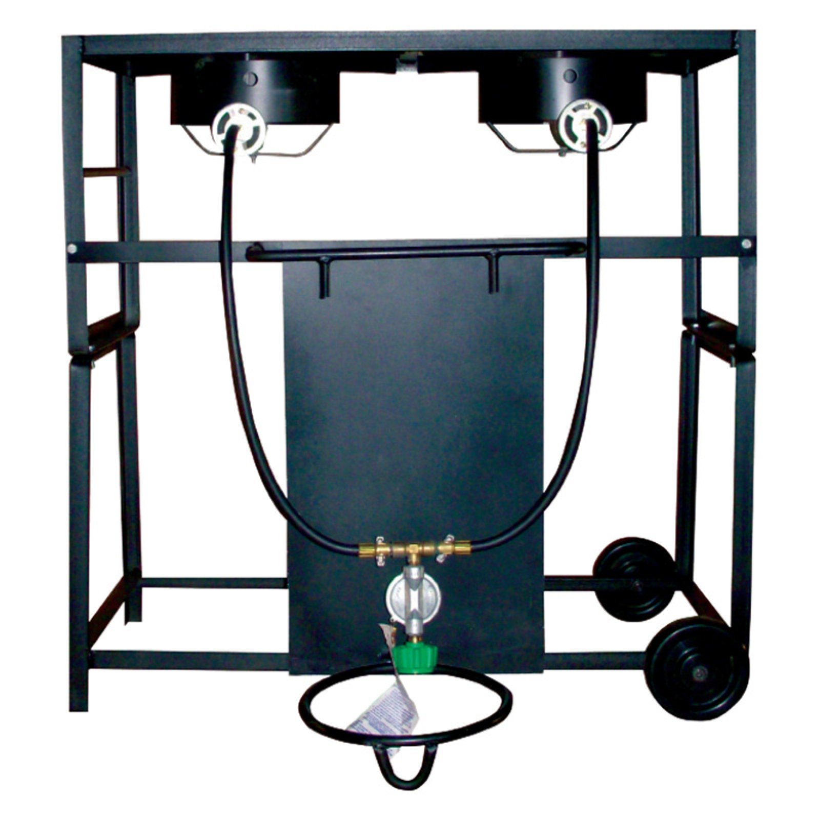 King Kooker 28 in. Bolt Together Patio Cart Outdoor Cooker