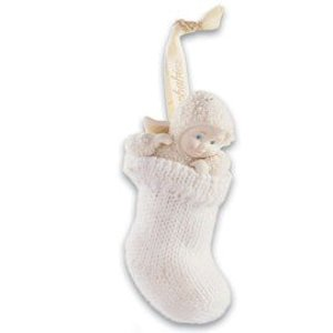 Snowbabies Well - Snowbabies Celebrations 56.69231 A Baby In My Stocking Ornament