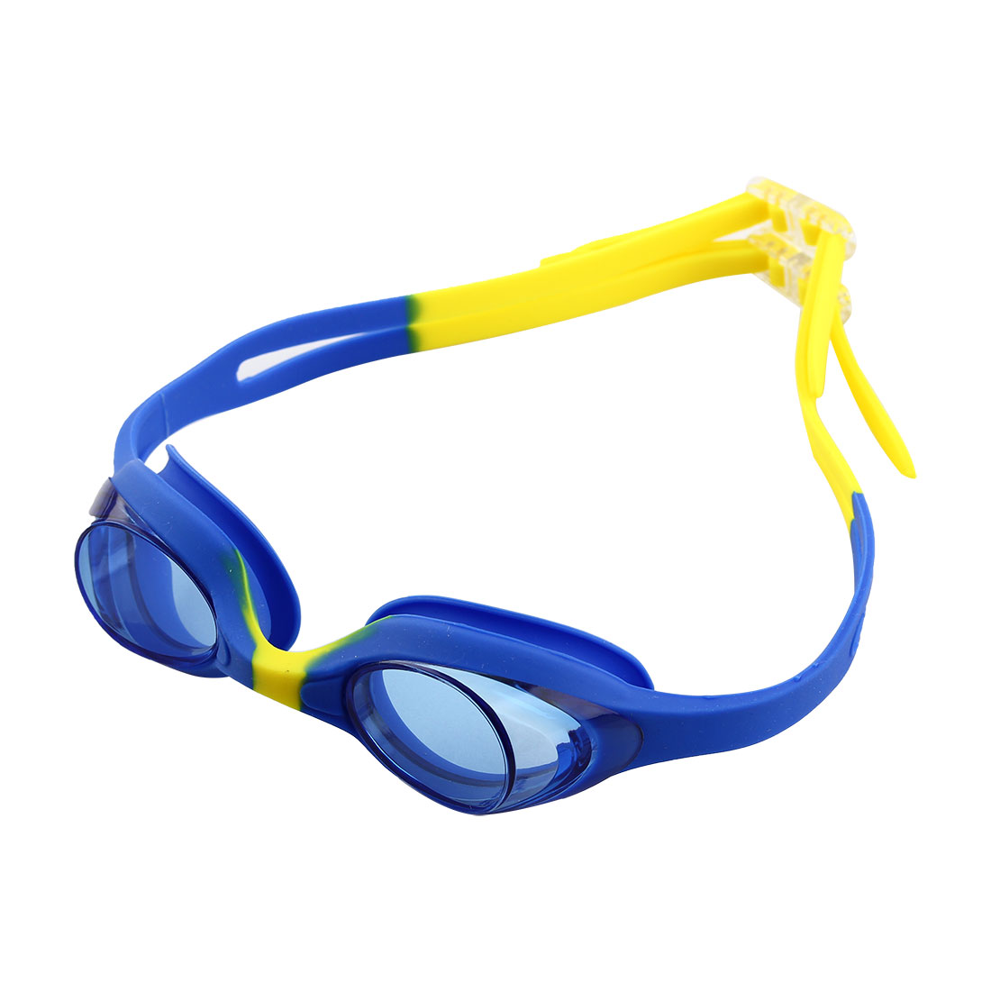 Clear Vision Anti Fog Swimming Goggles Glasses Blue Yellow for Youth Kids Child by Unique-Bargains