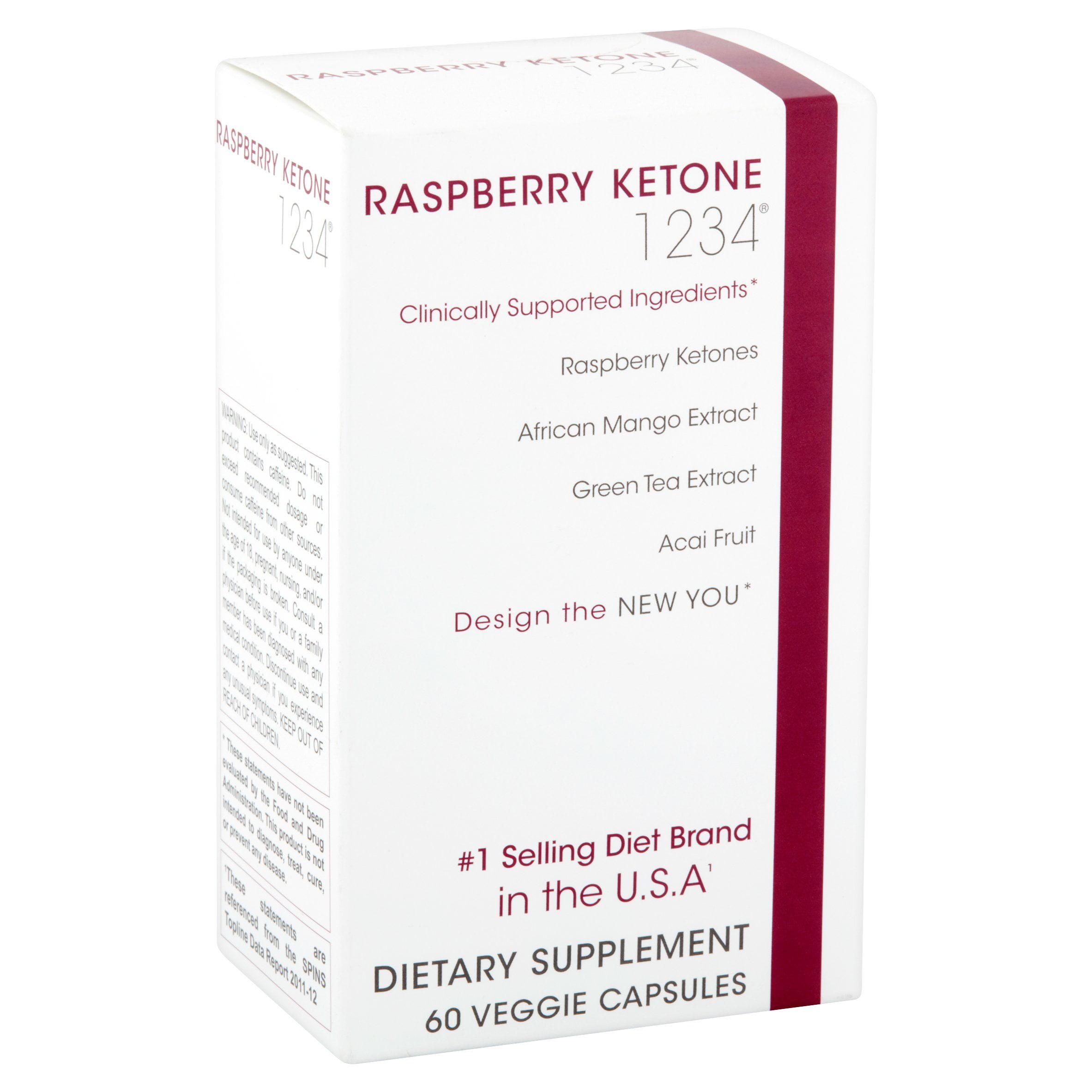 Creative Bioscience 1234 Raspberry Ketones Fat Blocker Weight Loss