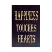 Cheungs 'Happiness Touches Hearts' Textual Art