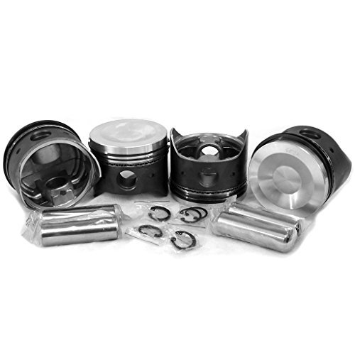 AA Performance Products 93x66MM Dished Piston Set