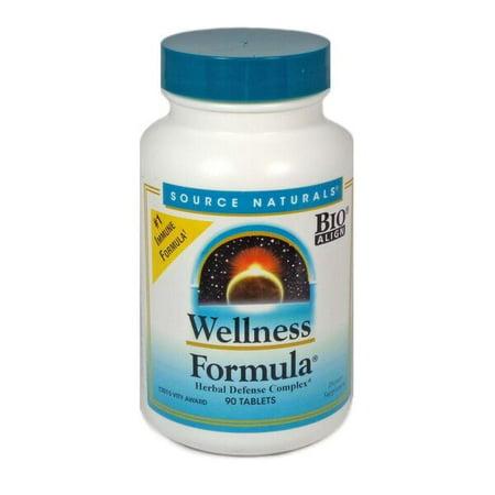 Source Naturals Wellness Formula Tablets, 90 (California Natural Wellness Shots)