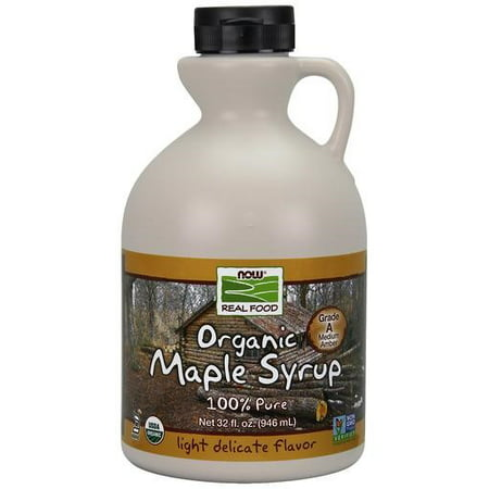 NOW Foods Real Food Organic Maple Syrup 32 fl oz (Syrah Star)