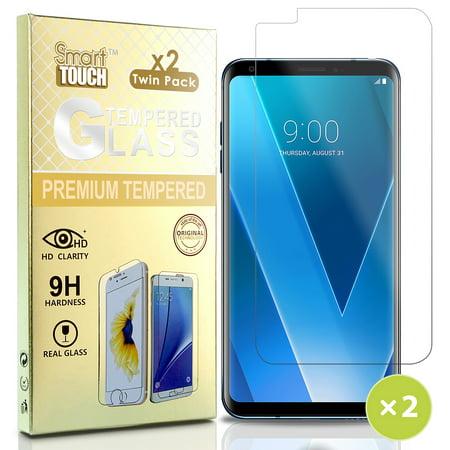 - LG V30 Tempered Glass, 2X CLEAR HARD SCREEN GUARD PROTECTOR CRACK SAVER FOR LG V30/V30 Plus/V30+/V30s/V35