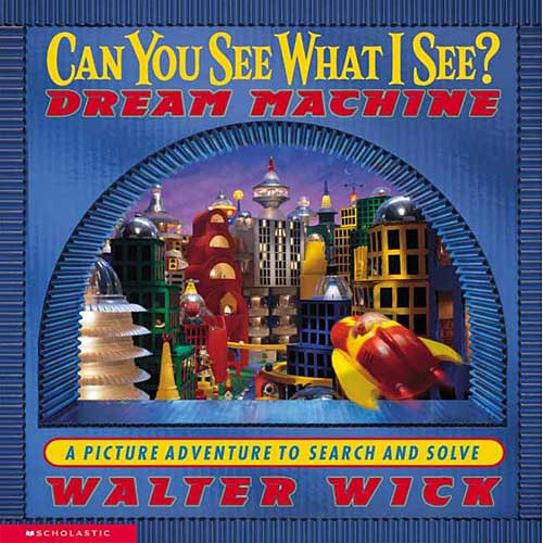 Can You See What I See: Dream Machine: Picture Puzzles to Search and Solve
