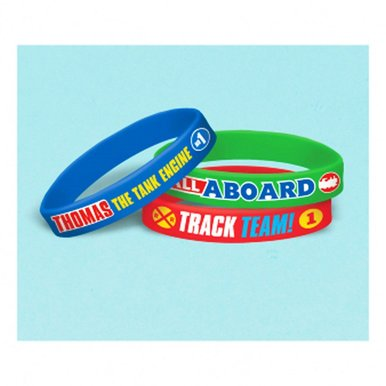 Thomas All Aboard Rubber Bracelets - 6 Per Pack - image 1 of 1